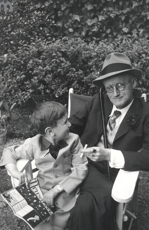Joyce with grandson Stephen - 1938