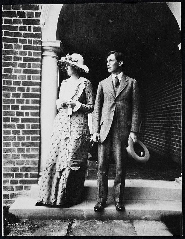 Leonard and Virginia Woolf Wedding Day