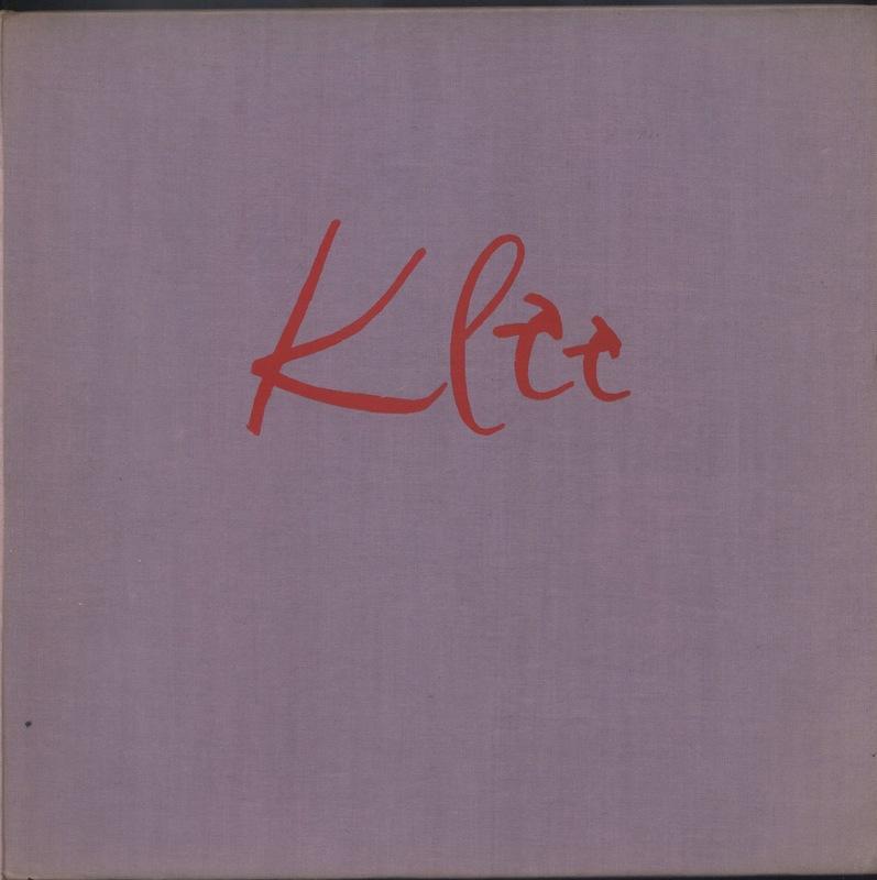 Front Cover of Paul Klee's <em>On modern art.</em>