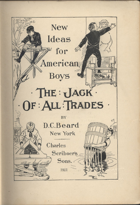 D.C. Beard's The Jack of All Trades Title Leaf