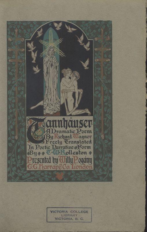 <em>Tannhauser's</em> title page