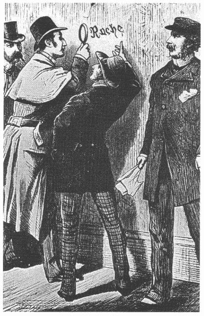 D.H. Friston's illustration for Sherlock Holmes in<em>A Study in Scarlet</em>