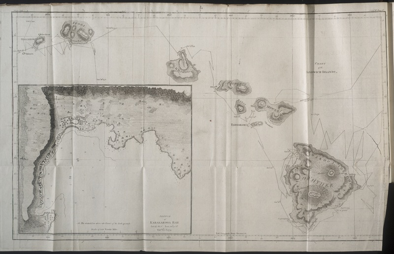 Chart of Sandwich Islands