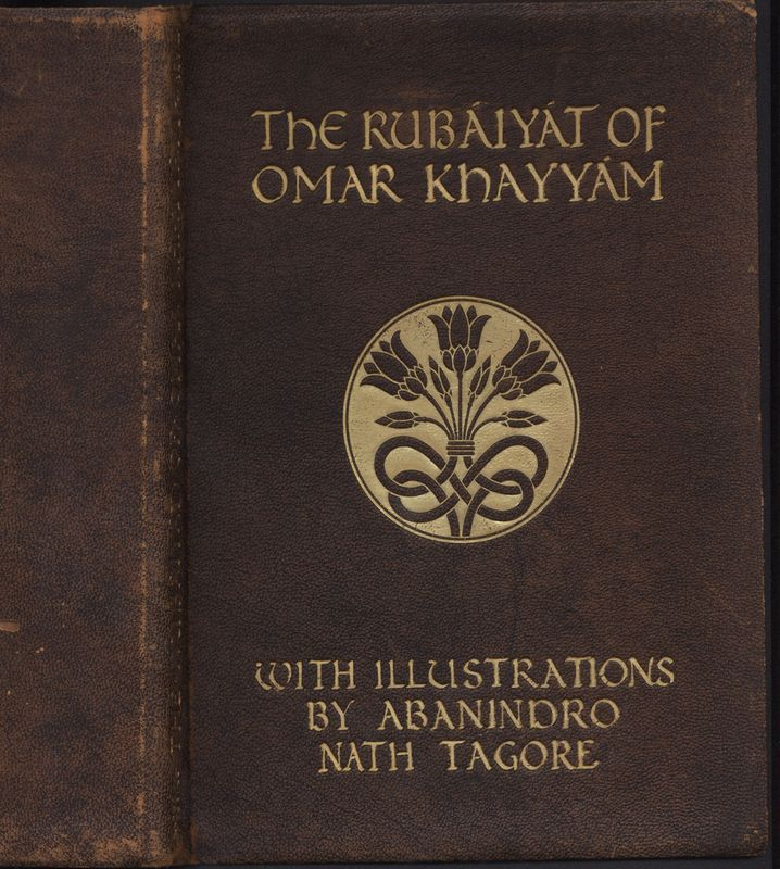 Cover Page of Fitzgerald's<em> Rubaiyat</em> published by Leopold B. Hill in 1920