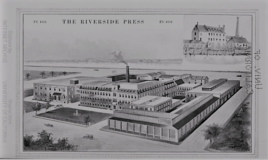 The Riverside Press Projected Development, 1911