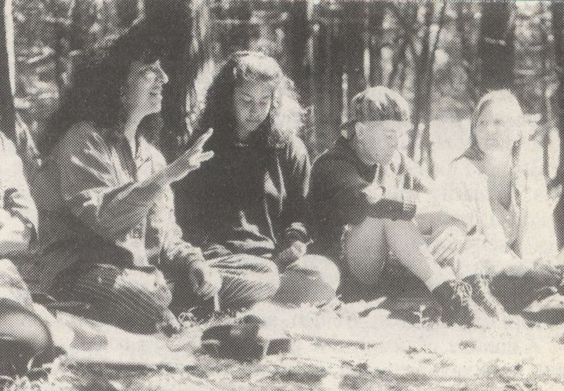 Anarchist summer camp photograph