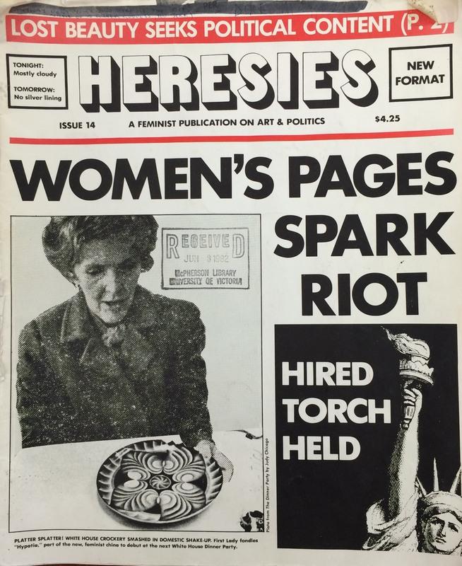 Cover of Heresies (June 1982)