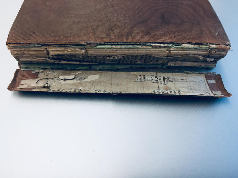 Exterior (including spine) of <em>The Romance of the Forest</em>. <em><br /></em>