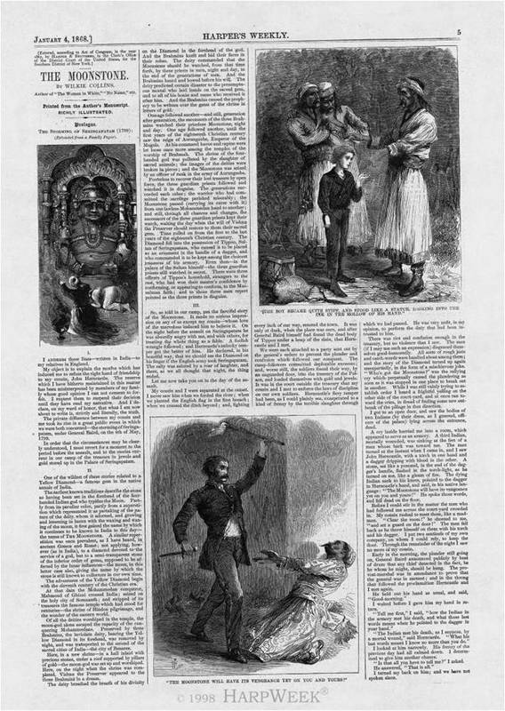 Other Wilkie Collins' Sensation Novels in <em>Harper's Weekly<br /></em>