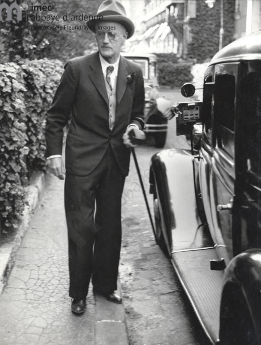 James Joyce - Paris 1938