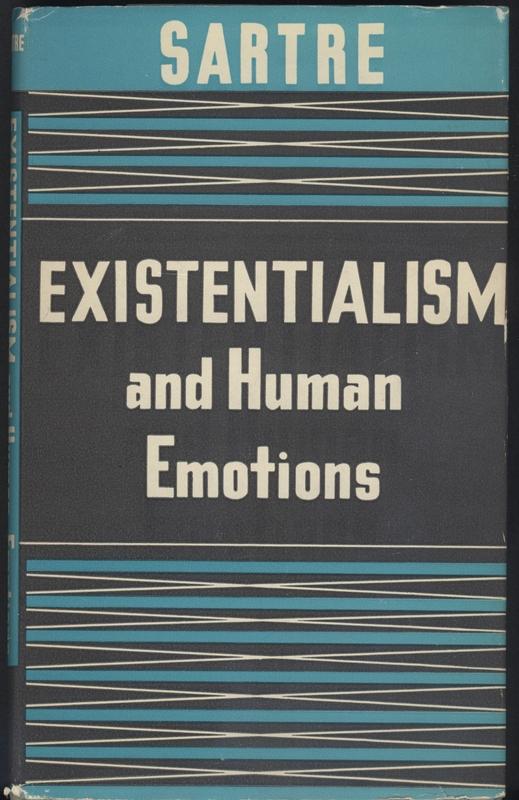 Cover of <em>Existentialism and Human Emotions</em>