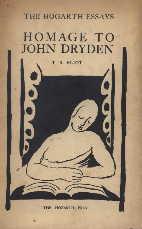 Cover illustration of<em>The Hogarth Essays: Homage to John Dryden</em> by T.S. Eliot.