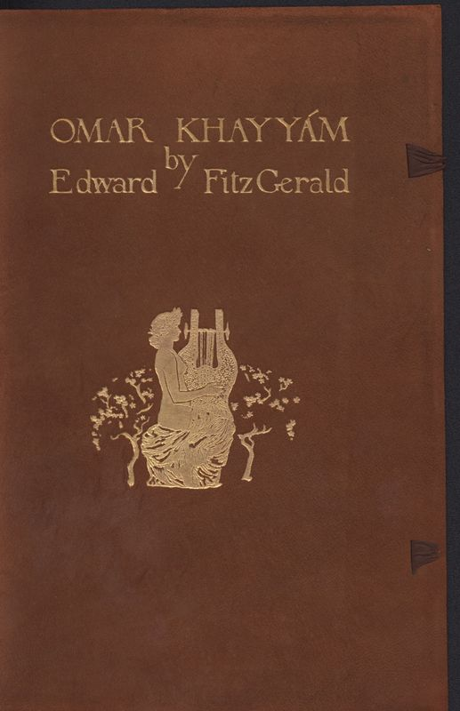 Cover Page of<em> Omar Khayam</em> by <em>Edward Fitzgerald</em> (1912)