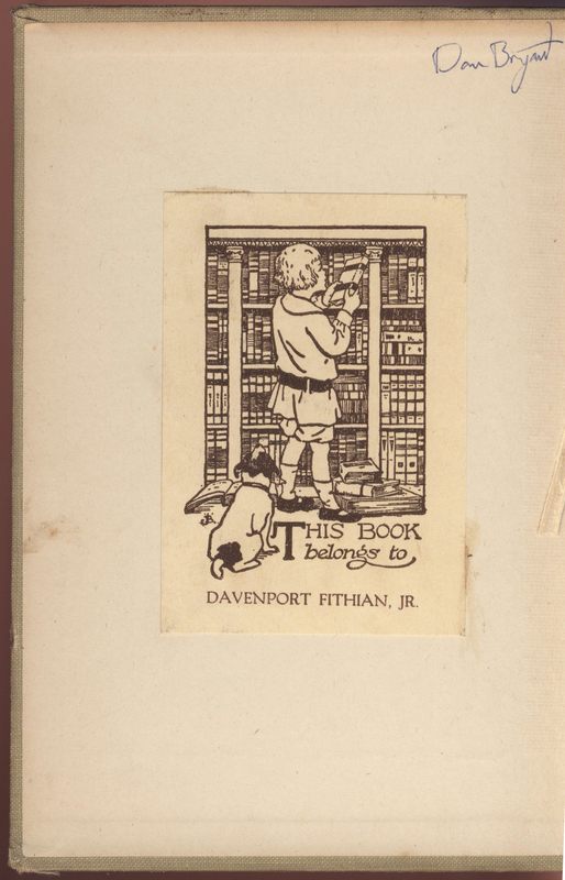 D.C. Beard's The Jack of All Trades Book Bookplate and Inscription