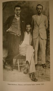 Glassco photo, Taylor, and McAlmon, summer 1929.