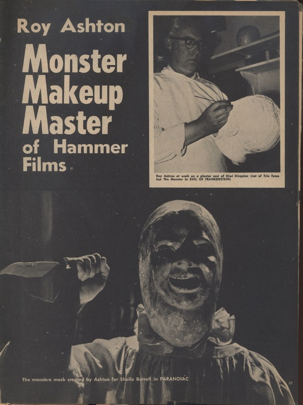 Castle of Frankenstein, Vol.2 No.4, Monster Makeup Hammer