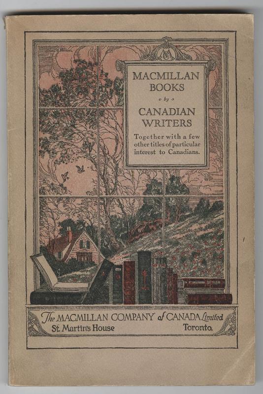 Macmillan Books Catalogue Cover