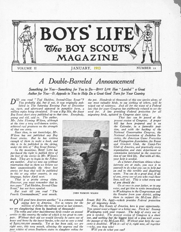 Boys' Life: The Boy Scouts' Magazine January 1913