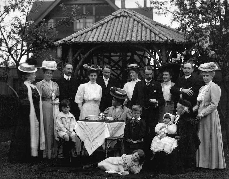Malkin Family Outdoor Tea