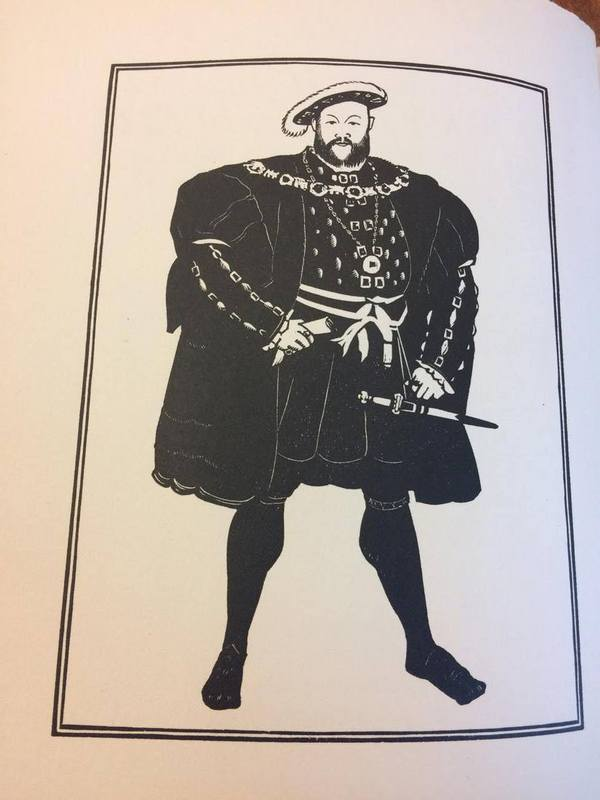 Picture of King Henry VIII from <em>The Miscellaneous Writings of King Henry VIII</em>