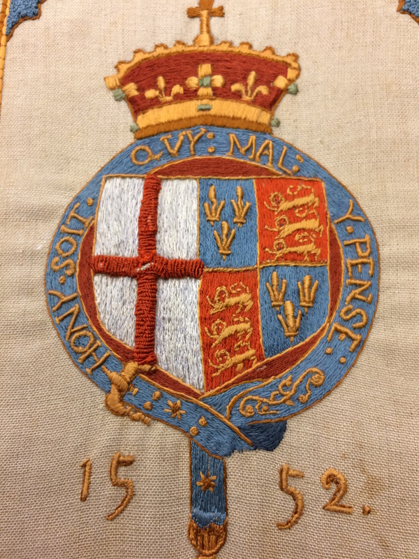 Statutes of the Order of the Garter - Embroidered Cover