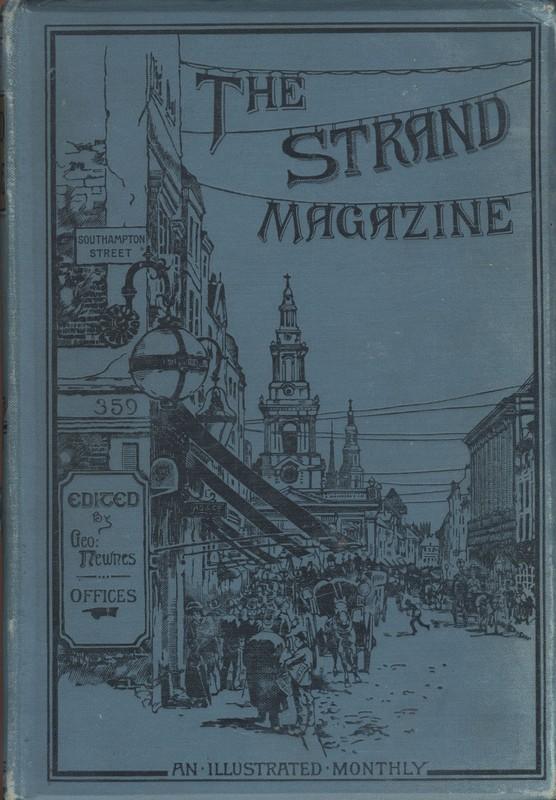 <em>The Strand Magazine</em>, volume one cover
