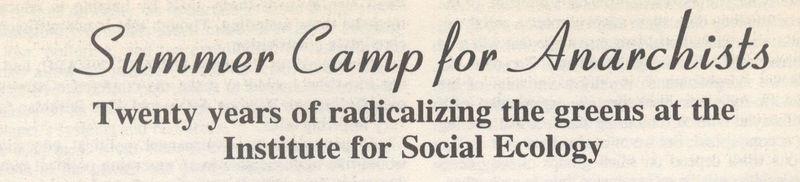 Anarchist summer camp title