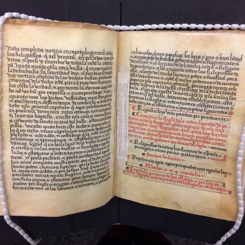 First chapter of the Rule.<em>Regla de la Sagrada Orden de Penitencia.</em>