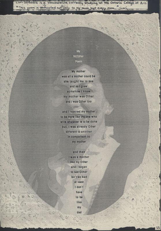 My M(O)ther by Lori Goddard