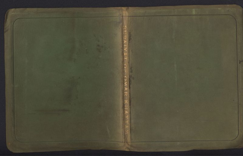 Cover Page of Fitzgerald's <em>Rubaiyat,</em> Siegle, Hill & Co. Edition (1911)