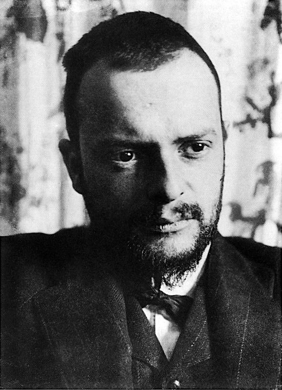 Portrait of Paul Klee