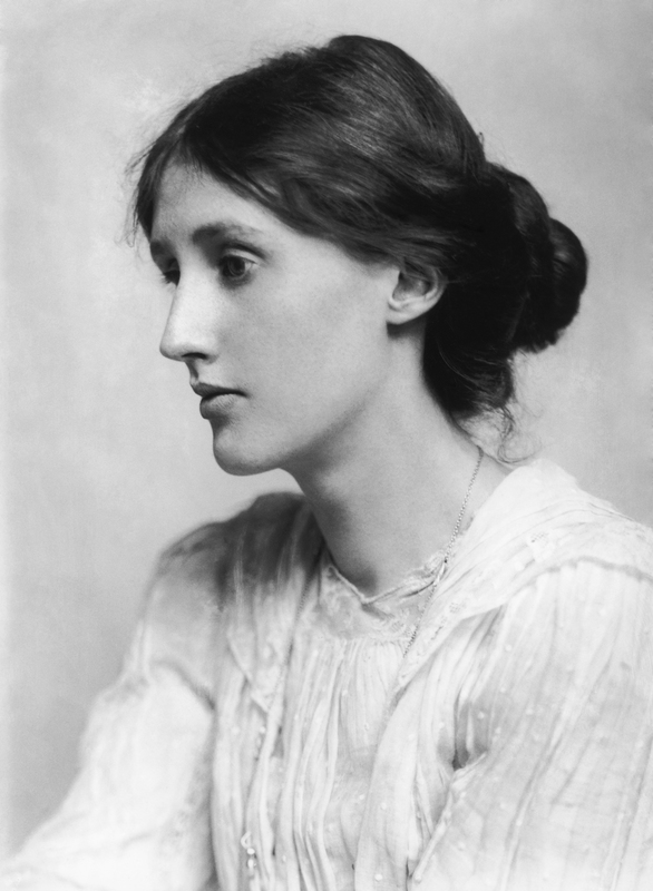 Portrait of a young Virginia Woolf