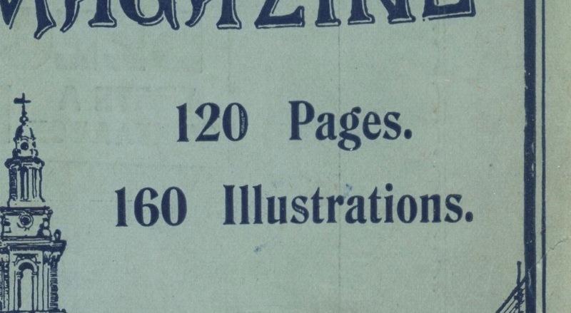 <em>The Strand Magazine</em>, issue 87 front cover