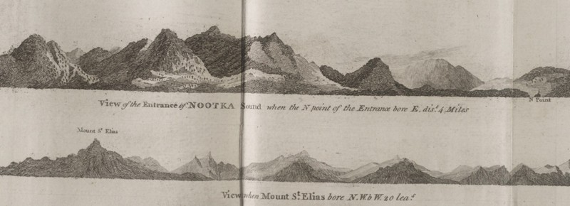 Sketch of Nootka Sound and Mount Saint Elias