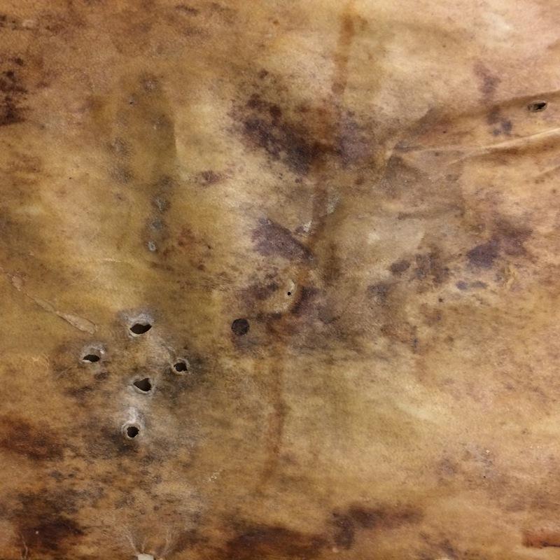 Binding holes.<em>Regla de la Sagrada Orden de Penitencia.</em>