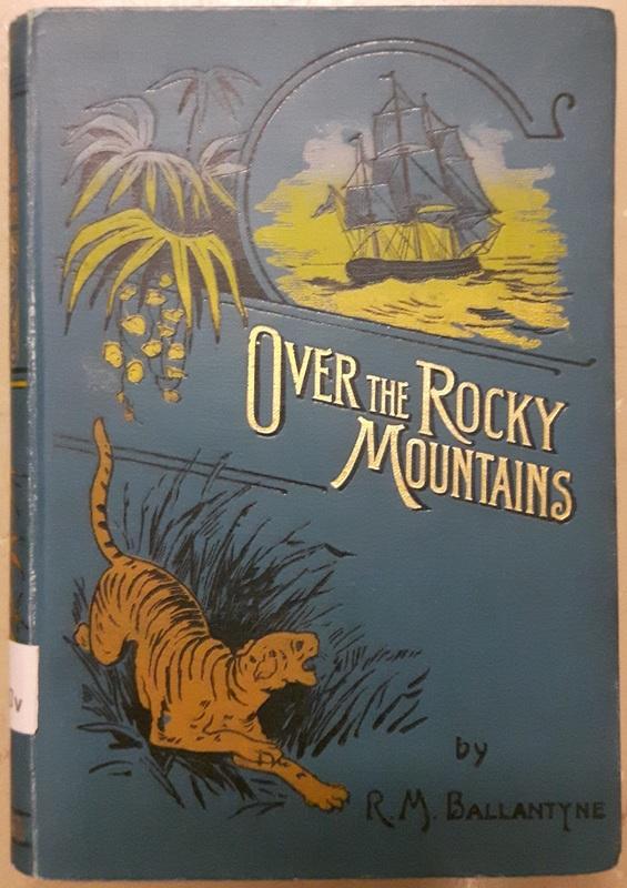 <em>Over the Rocky Mountains</em> cover