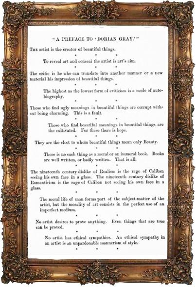 Preface to <em>The Picture of Dorian Gray</em>
