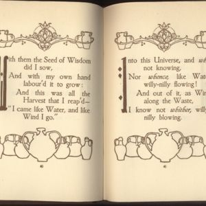 Decorations Made by Willy Pogany for Fitzgerald\'s Rubaiyat Published by Spottswoode Ballantyne and Co.jpg