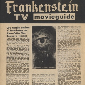 Castle of Frankenstein, Vol.2 No.2, TV Movie Guide