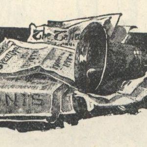"""<em>The Strand Magazine</em>, volume one, """"The Story of the Strand"""" tailpiece"""