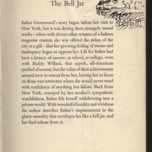 The Bell Jar Title Page