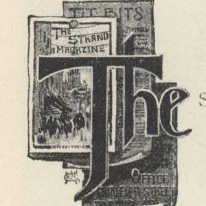 """<em>The Strand Magazine</em>, volume one, """"The Story of the Strand"""" initial"""