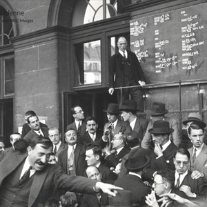 Paris Stockmarket - 1932