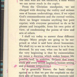Robert Sward - First note, 1958