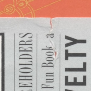 Damage Details,<em>The ACME Novelty Library: Final Report to Shareholders and Saturday Afternoon Rainy Day Fun Book</em>