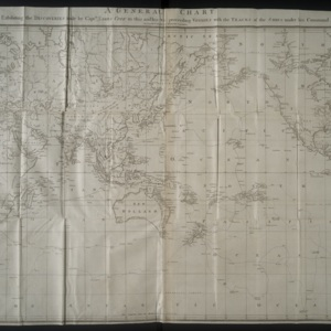 Global Map in A Voyage to the Pacific Ocean