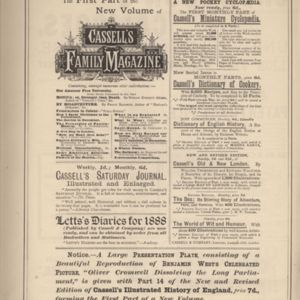 9th page of advertisements in Woman's World Dec 1887
