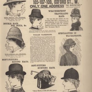 4th page of advertisements in Woman's World Dec 1887