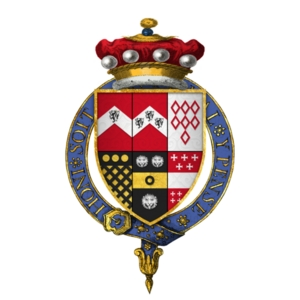 Coat of Arms of Sir George Brooke