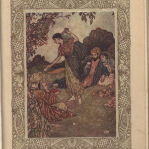Illustration by Edmund Dulac for Fitzgerald\'s Rubaiyat published by HodderStoughton.jpg
